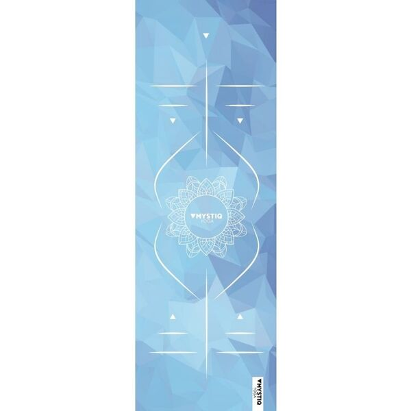 Mystiq Yoga - TRAVEL Series - Tapis de Yoga de Voyage Mandalign Blue
