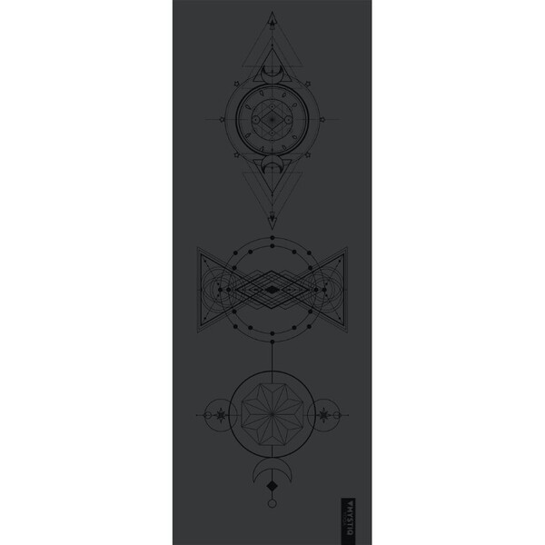 Mystiq Yoga - ELITE Series - Tapis de Yoga Mystiq Side Black