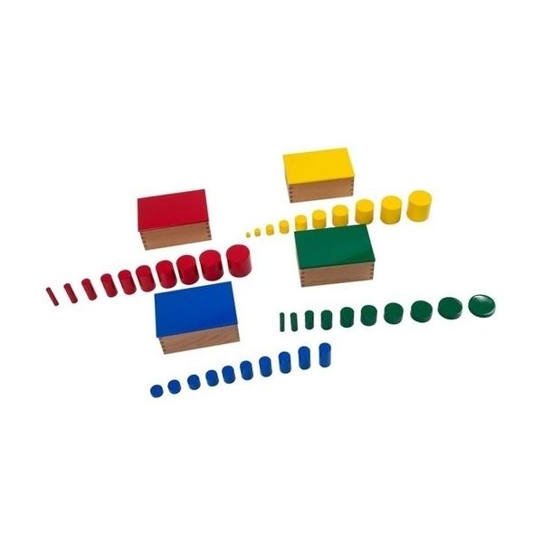MontessoriSamuserAutrement - Cylindres colorés