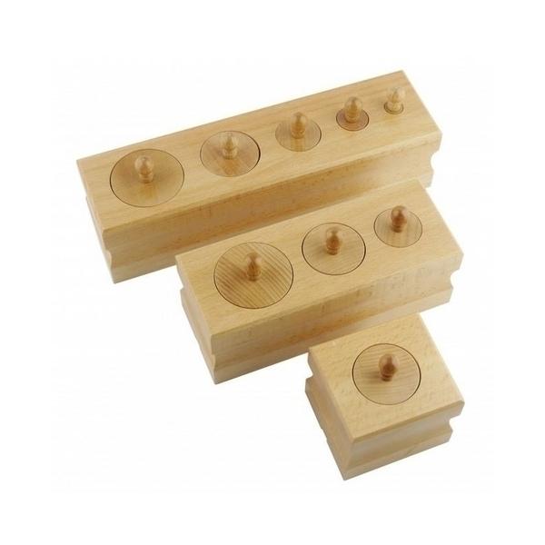 MontessoriSamuserAutrement - Mes premiers blocs des cylindres