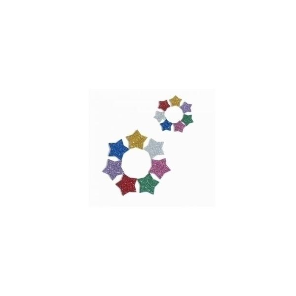 Eduplay - Gommettes paillettes étoiles