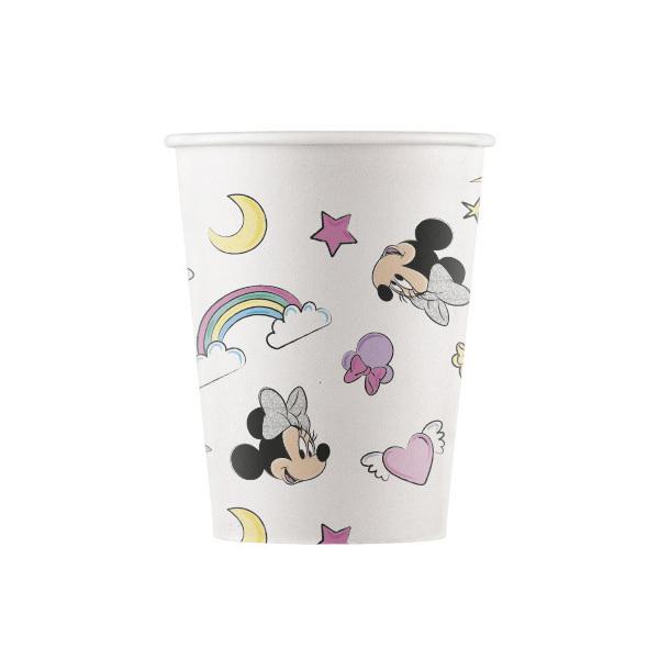 DECORATA PARTY - 8 Gobelets Minnie Licorne - Compostable