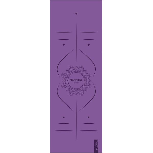 Mystiq Yoga - START Series - Tapis de Yoga Mandalign Purple