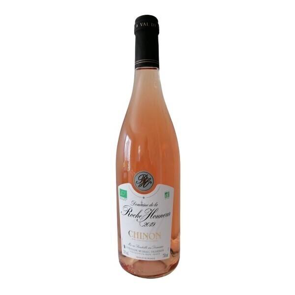 Vinaccus - Chinon Bio 2019 - Vin Rosé sec AOC - en 1 bouteilles de 75cl.
