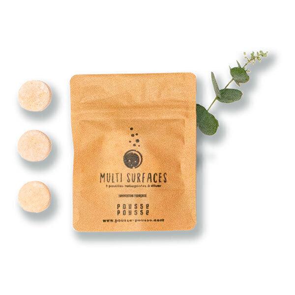 Pousse Pousse - 3 pastilles multi-surfaces