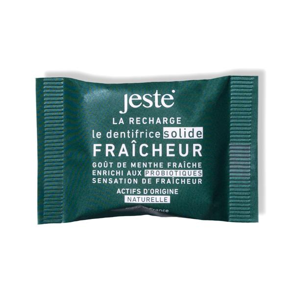 Jeste - ECO-RECHARGE - DENTIFRICE SOLIDE JESTE FRAÎCHEUR