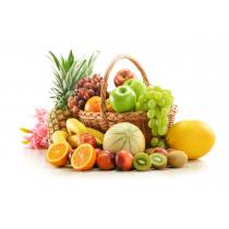 La Boîte à Herbes - Panier de 10 fruits et aromates  BIO de saison - 5kg
