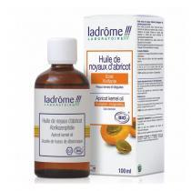 Ladrôme - Huile de noyau d'abricot bio 100ml - Eclat des peaux ternes