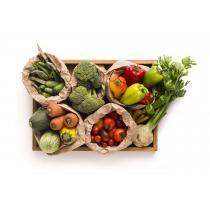 La Boîte à Herbes - Panier de 7 légumes et aromates BIO de saison - 3,5kg