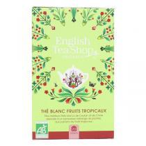 English Tea Shop - Thé blanc aux fruits tropicaux 20 sachets