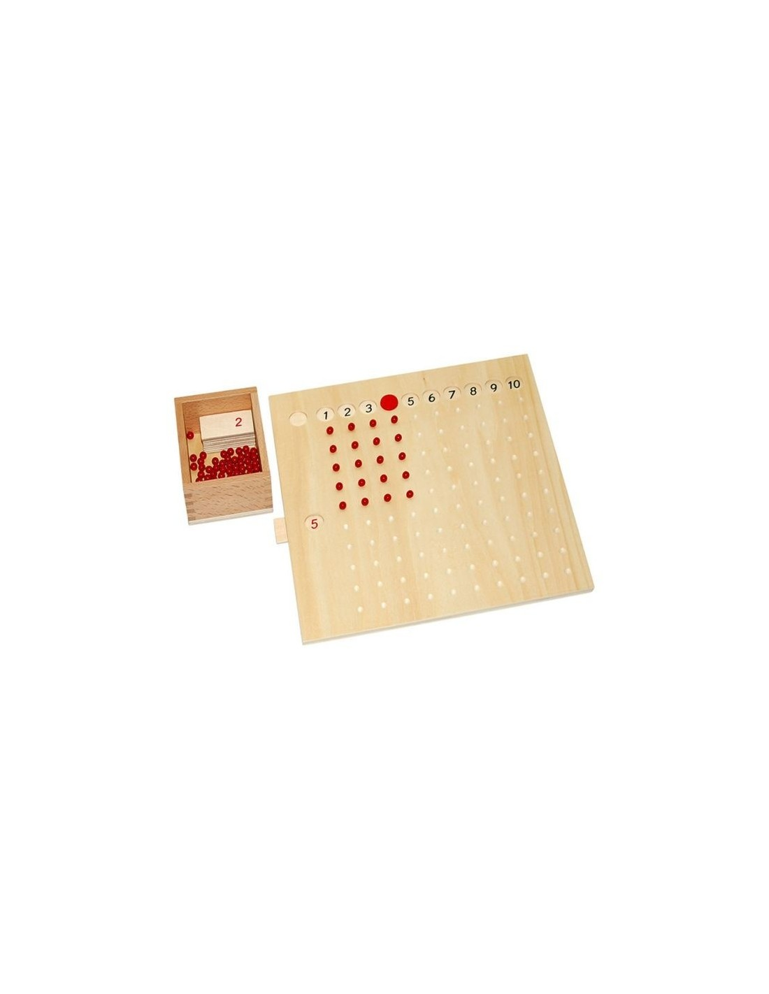 MontessoriSamuserAutrement - Tableau de multiplications
