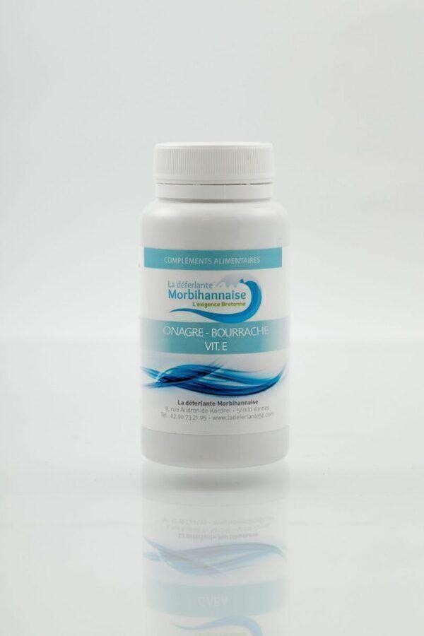 Cosmétique Morbihan - Bourrache + Onagre + Vitamine E 100 CAPSULES