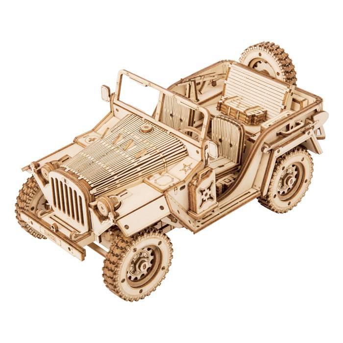 Robotime - Maquette 3D - Voiture Jeep