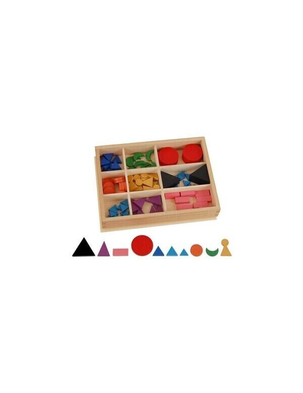 MontessoriSamuserAutrement - 100 Symboles grammaticaux bois