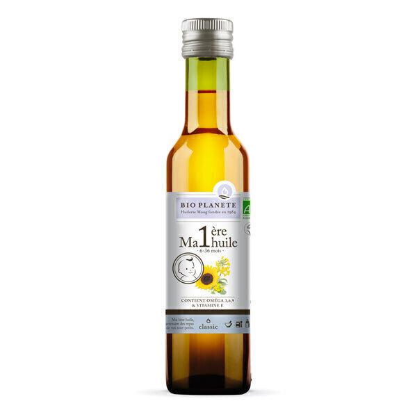 Bio Planète - Ma 1ère huile mélange d'huiles vierges pour bébé 25cl