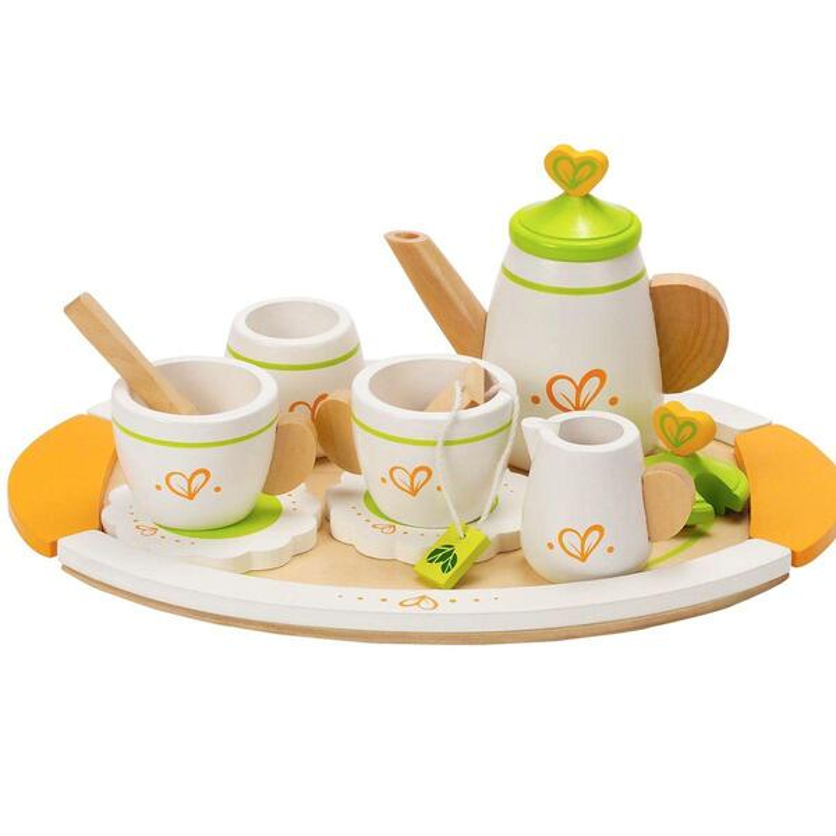 Hape - Dinette service à thé bois hape