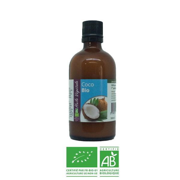 Laboratoire Altho - Huile végétale de Coco (noix) - 100 ml