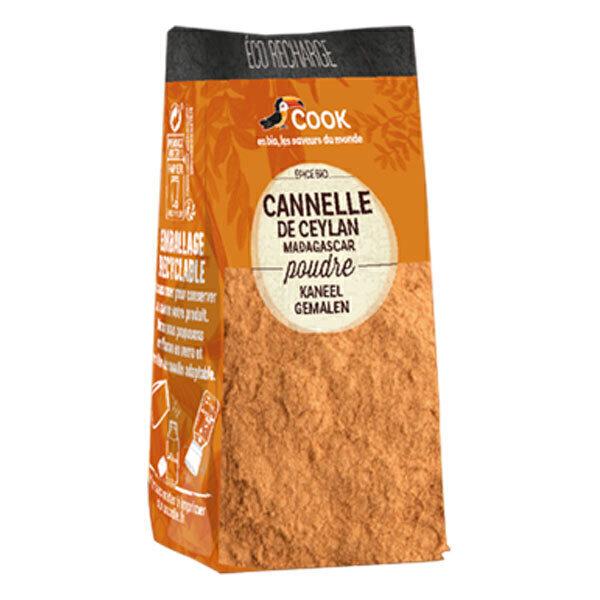 Cook - Cannelle en poudre éco recharge 35g