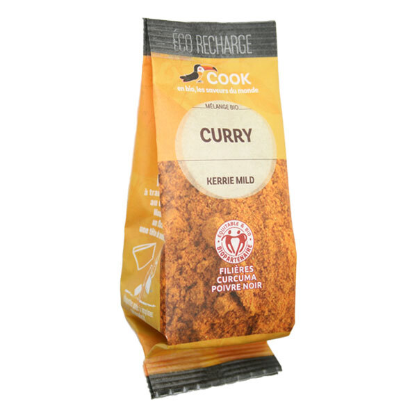 Cook - Curry éco recharge 35g
