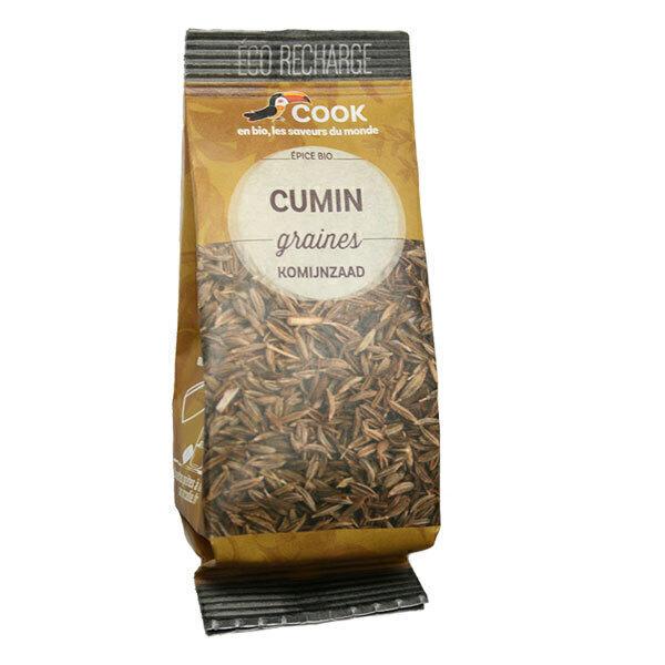 Cook - Graines de cumin éco recharge 40g
