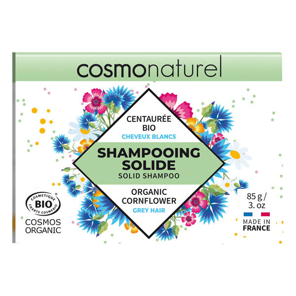 Cosmo Naturel - Shampoing solide cheveux blancs 85g