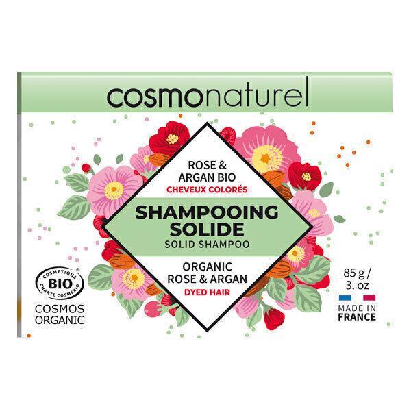 Cosmo Naturel - Shampoing solide cheveux colorés 85g