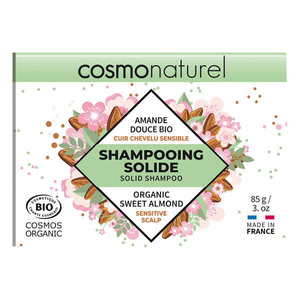 Cosmo Naturel - Shampoing solide cuir chevelu sensible 85g