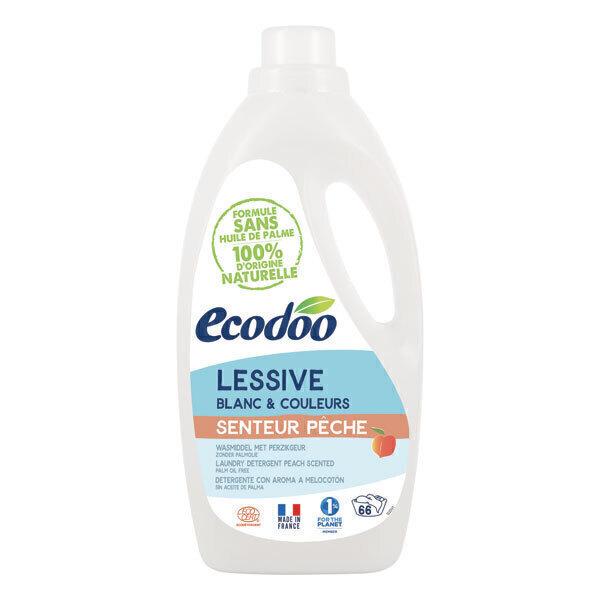 Ecodoo - Lessive liquide concentrée Pêche 2L