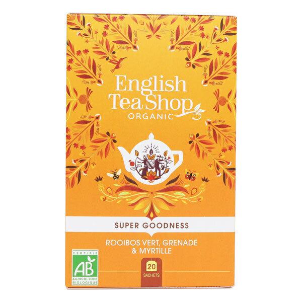 English Tea Shop - Rooibos vert grenade et myrtille 20 sachets