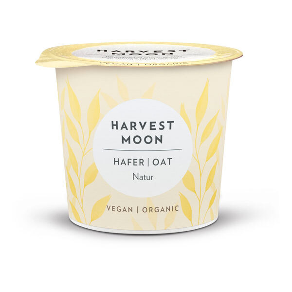 Harvest moon - Yaourt nature à l'avoine 275g