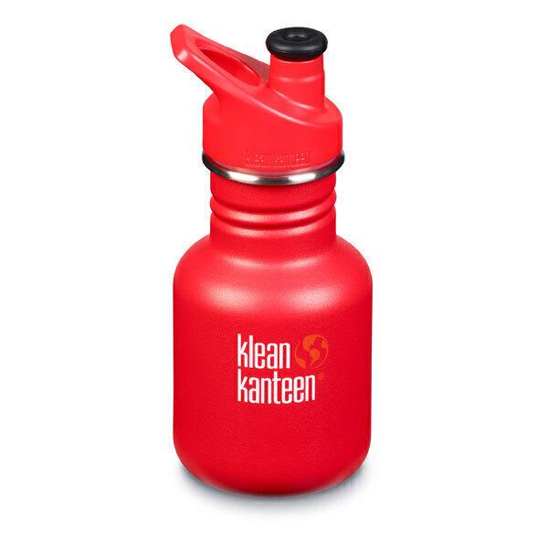 Klean Kanteen - Gourde enfant Sport Cap rouge 35,5cl