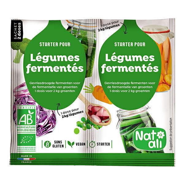 Natali - Lacto-ferments pour légumes 2x5g
