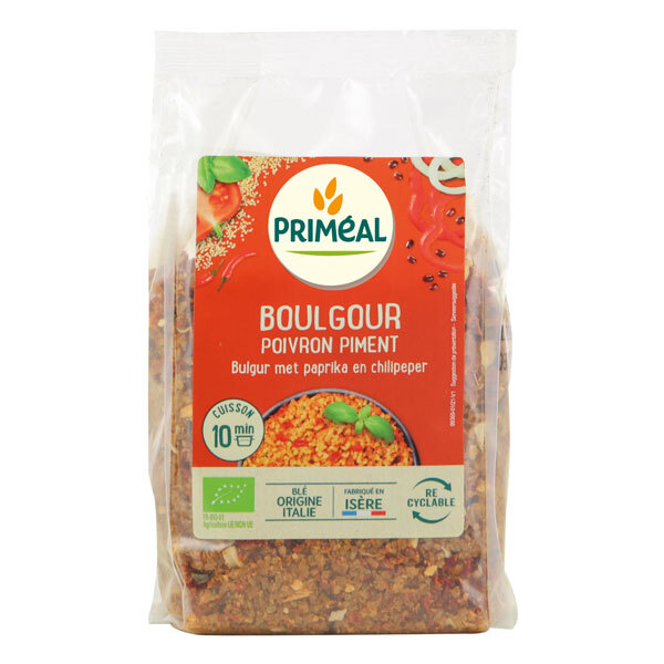 Priméal - Boulgour poivron et piment 300g