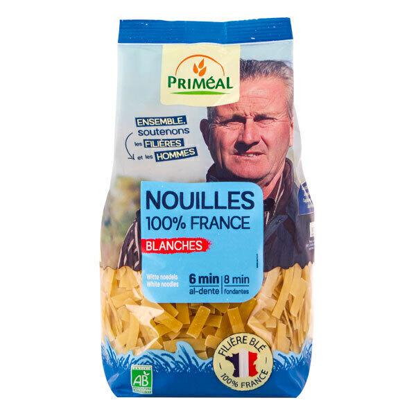 Priméal - Nouilles blanches origine France 500g