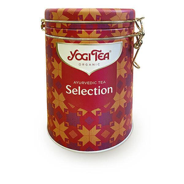 Yogi Tea - Boîte métal assortiment de 5 infusions - 30 sachets