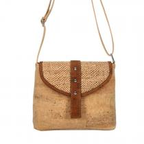 OAK Forest - Sac à bandoulière en liège naturel Rihanna Jungle - Sac Vegan