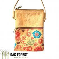 """OAK Forest - Sac à bandoulière en liège artisanal  """"Roma""""-Sac Vegan"""