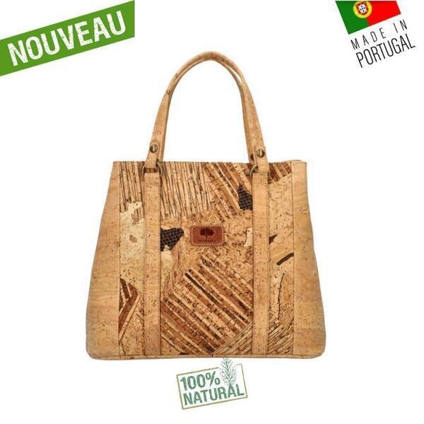 "OAK Forest - Sac liege artisanal ""Wood"" - Sac liege Vegan"