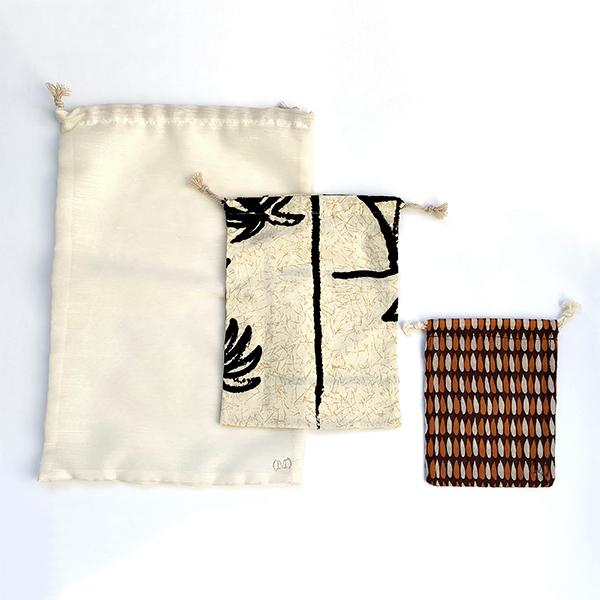 Mélie Coop - Trio de sacs à vrac