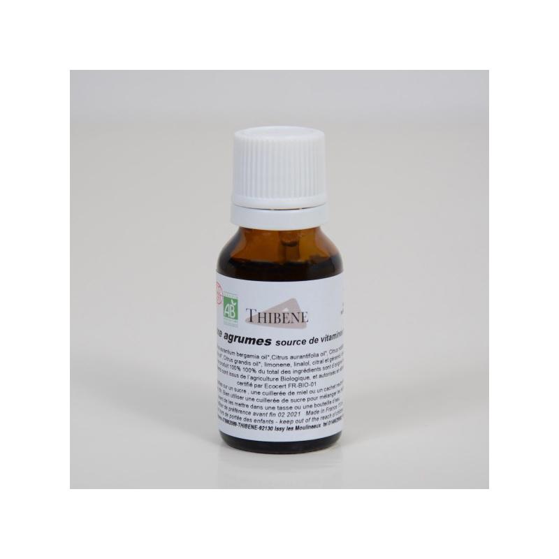 Thibêne - Synergie Agrumes source de vitamines naturelles 15 ML