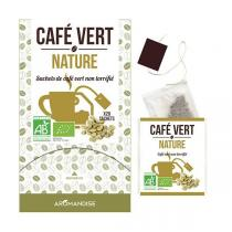 Aromandise - Café vert nature - 18 sachets