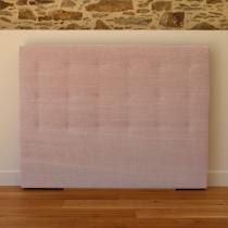 Biosense - Tête de lit Déco Vintage - L90, H105, P10 - Rose Poudré