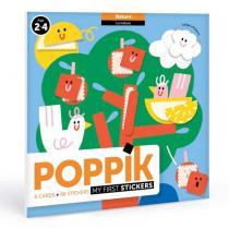POPPIK - Cartes et gommettes créatives Dans la nature