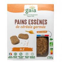 Gaïa - Pain de céréales germées blé 2x100 g