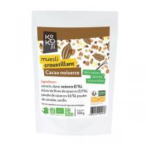 KOKOJI - Muesli Croustillant Cacao Noisette