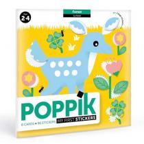 POPPIK - Cartes et gommettes creatives Dans la foret
