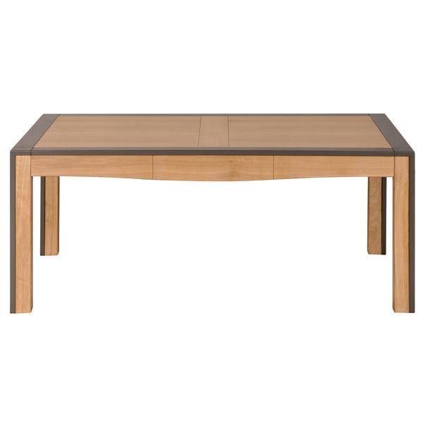 Mon petit meuble français - Table extensible merisier massif 180x100 cm