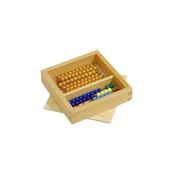 MontessoriSamuserAutrement - Boite perles quantité 11 à 19