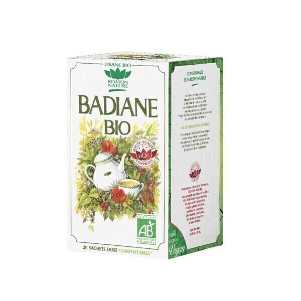 Romon Nature - Tisane Badiane bio - 20 sachets