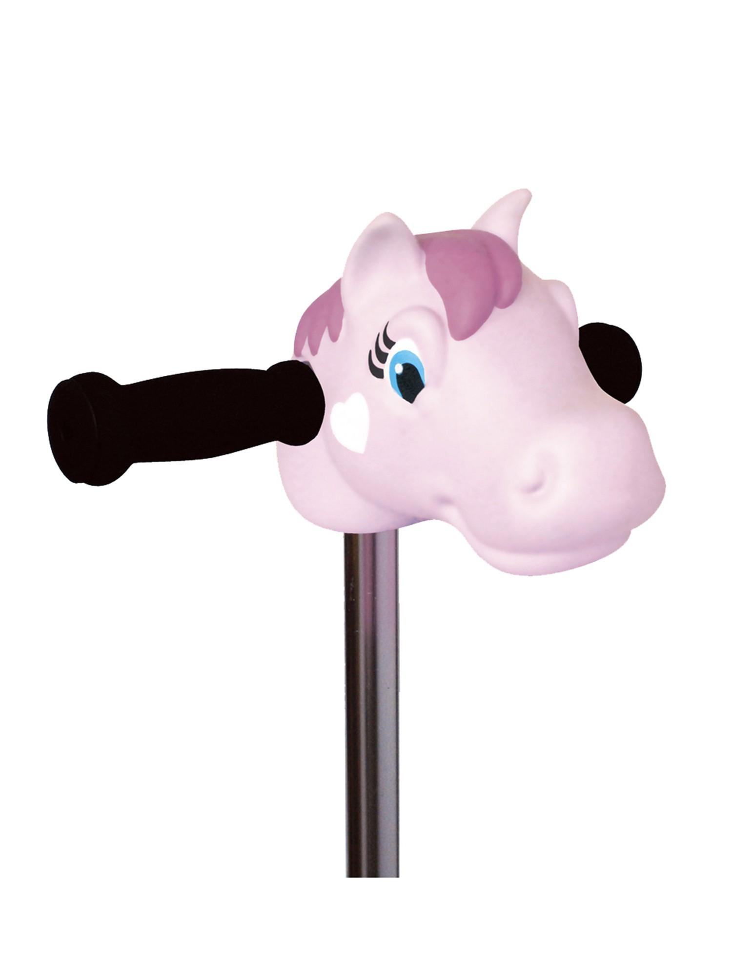 Micro - Tête de poney rose